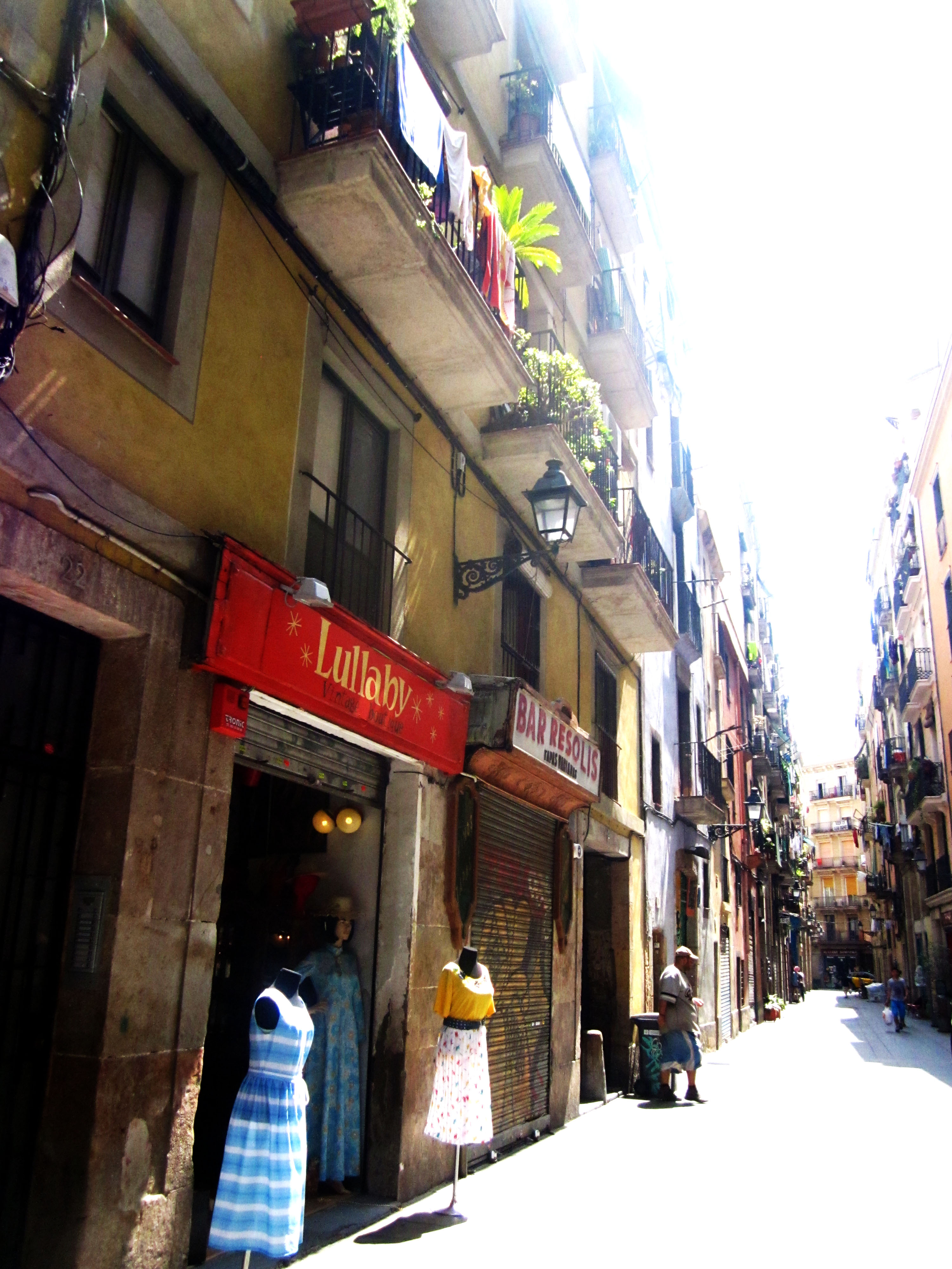 """The small and narrow """"Carrer Riera Baixa"""" is anything but ordinary"""