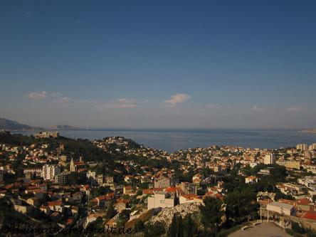 Hier oben kann man noch einmal den schönen Blick auf die Küste genießen