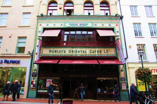 Das Bewley Café auf der Grafton Street