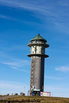 Unser erstes Ziel: Der Feldbergturm auf dem Seebuck