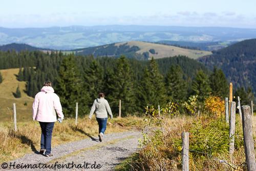 Auf dem Weg zur Zastler Hütte