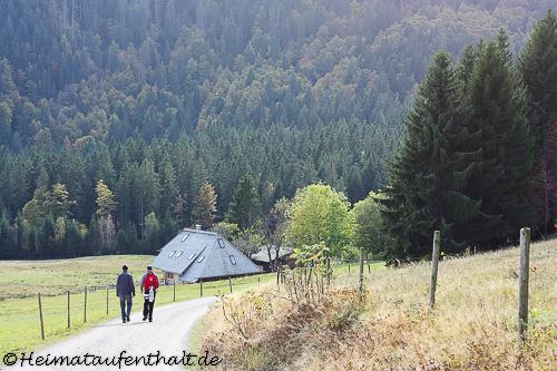Die vorletzte Station der Hüttentour, der Raimartihof, ist schon in Sicht