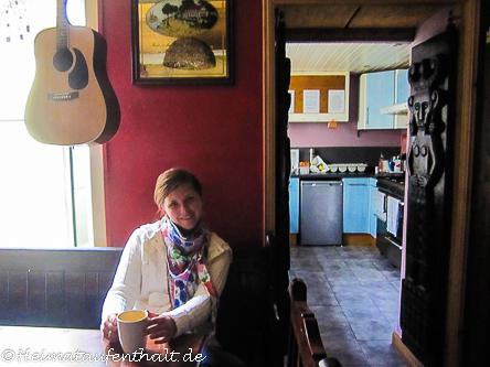 Das Herzstück des Hostels: Die gemeinschaftlich genutzte Küche