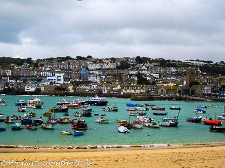 Das Hafenstädtchen St. Ives ist ein absolutes Muss für jede Cornwall Reise