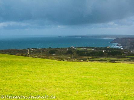 Ausblick über die Küste