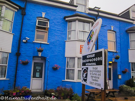 Das farbenfrohe Newquay Backpackers